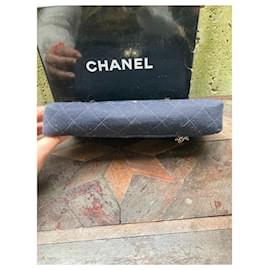 Chanel-Chanel Bag 2.55 circa jersey 1960-Black,Gold hardware