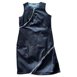 Diesel-Dresses-Silvery,Blue,Dark blue