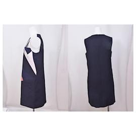 Victoria Beckham-[Used] VICTORIA BECKHAM One Piece Sleeveless Dress-Black,Multiple colors