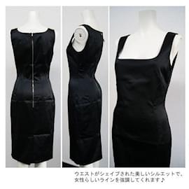 Dolce & Gabbana-[Used] DOLCE & GABANNA Sleeveless Black Dress-Black