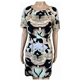 Designers Remix-Dresses-Black,Beige
