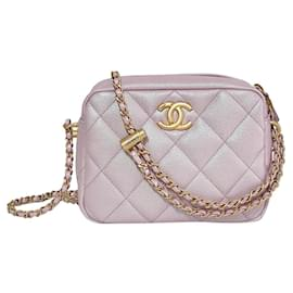 Chanel-Chanel Camera iridescent pink-Pink
