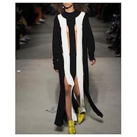 Marques Almeida-Marques Almeida AW18 Slashed Knit Dress-Black