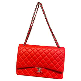 Chanel-Timeless maxi jumbo-Coral