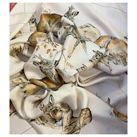 Hermès-The hinds X De Poret-Eggshell