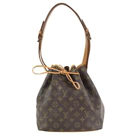 Louis Vuitton-Monogram Petit Noe Drawstring Bucket Hobo-Other