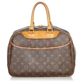 Louis Vuitton-Louis Vuitton Brown Monogram Deauville-Brown