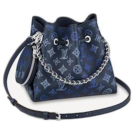 Louis Vuitton-LV Bella bag Mahina leather-Blue
