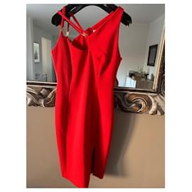 Versace-Dresses-Red