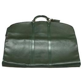 Louis Vuitton-LOUIS VUITTON Taiga Garment Cover Episea M30134 LV Auth gt129-Green
