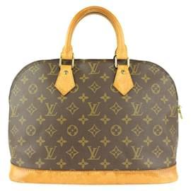 Louis Vuitton-Monogram Alma PM Dome Boston Bag-Other