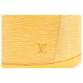 Louis Vuitton-Yellow Epi Leather Gobelins Backpack-Other