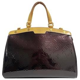 Louis Vuitton-Louis Vuitton Purple Vernis Brea MM-Purple