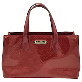 Louis Vuitton-Louis Vuitton Red Vernis Wilshire PM-Red