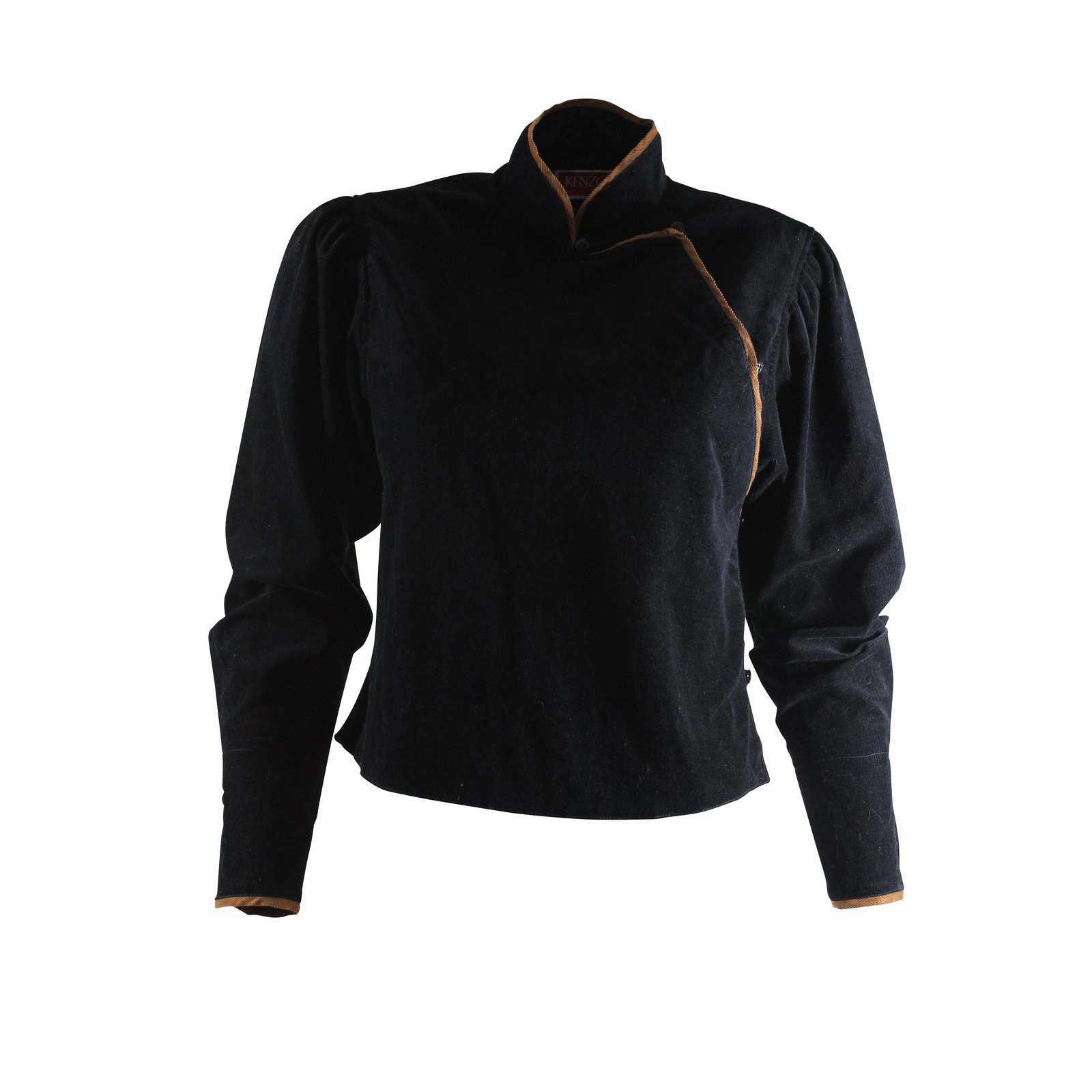 vestes kenzo veste vintage style kimono velours noir joli closet. Black Bedroom Furniture Sets. Home Design Ideas