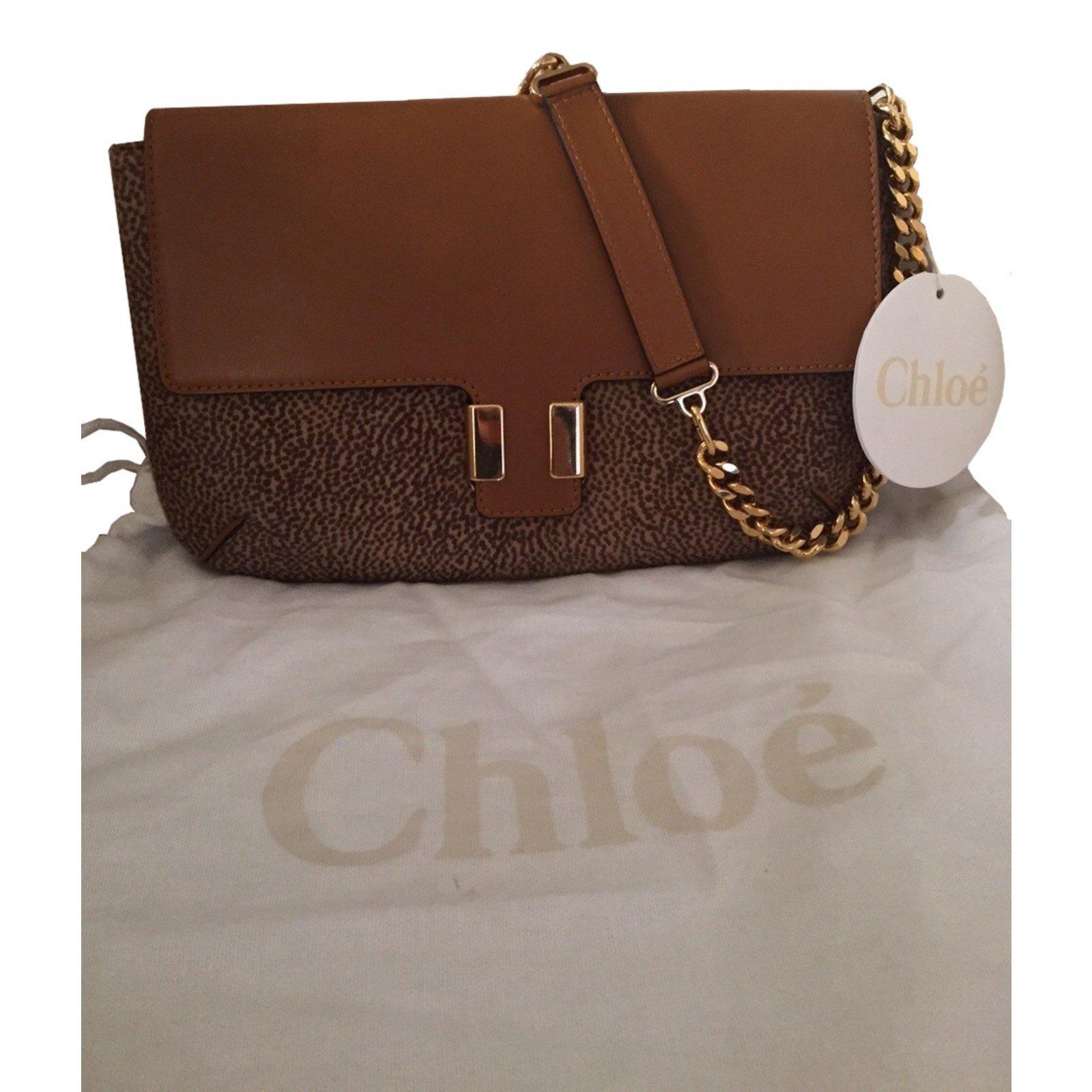 sacs main chlo sac main chlo cuir beige joli closet. Black Bedroom Furniture Sets. Home Design Ideas