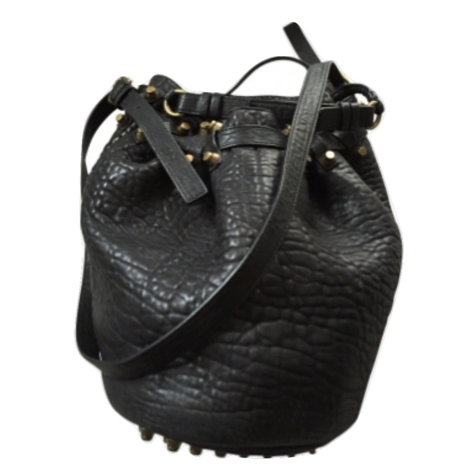 Alexander Handbags Leather Black Ref 5469