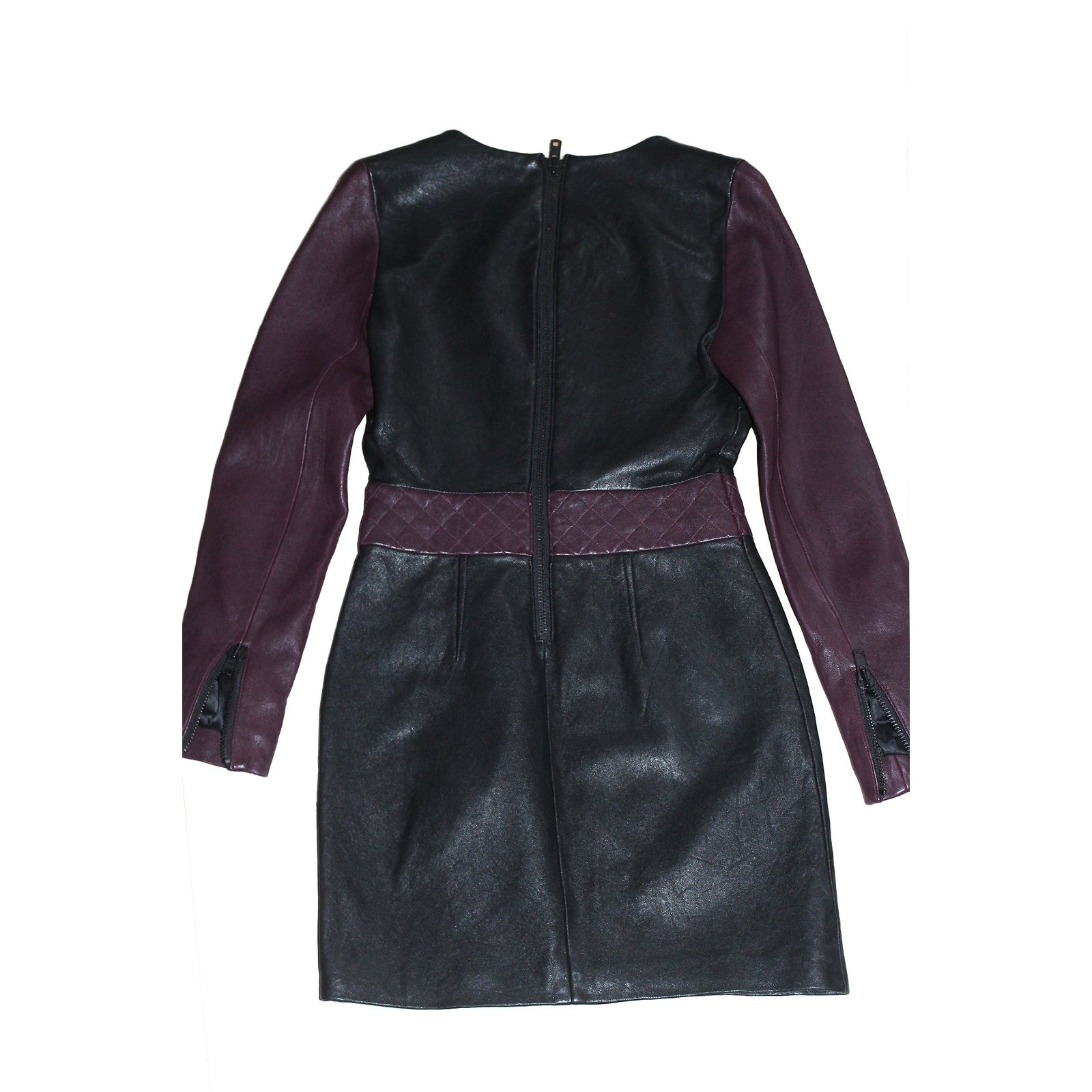 Robes American Retro Robe cuir Cuir Noir ref.6275 - Joli Closet 062bce1be8c6