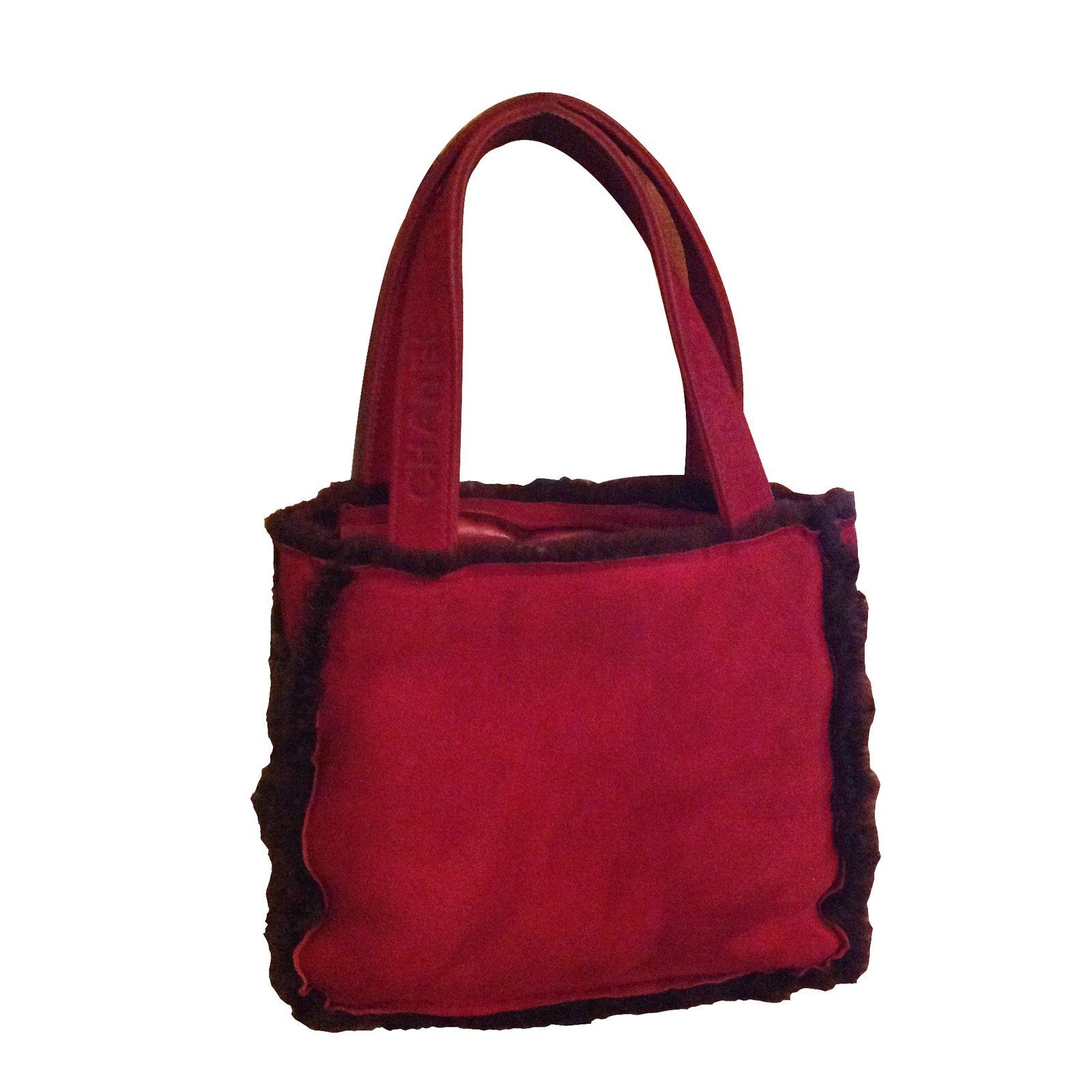 d354bbcb2a3f Chanel Handbags Handbags Lambskin Dark red ref.6468 - Joli Closet