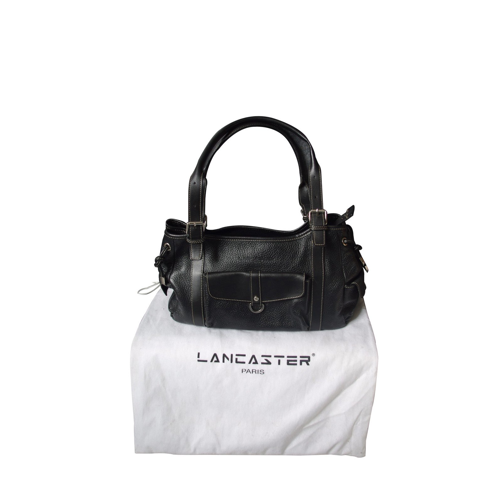 sacs main autre marque sacs main cuir noir joli closet. Black Bedroom Furniture Sets. Home Design Ideas
