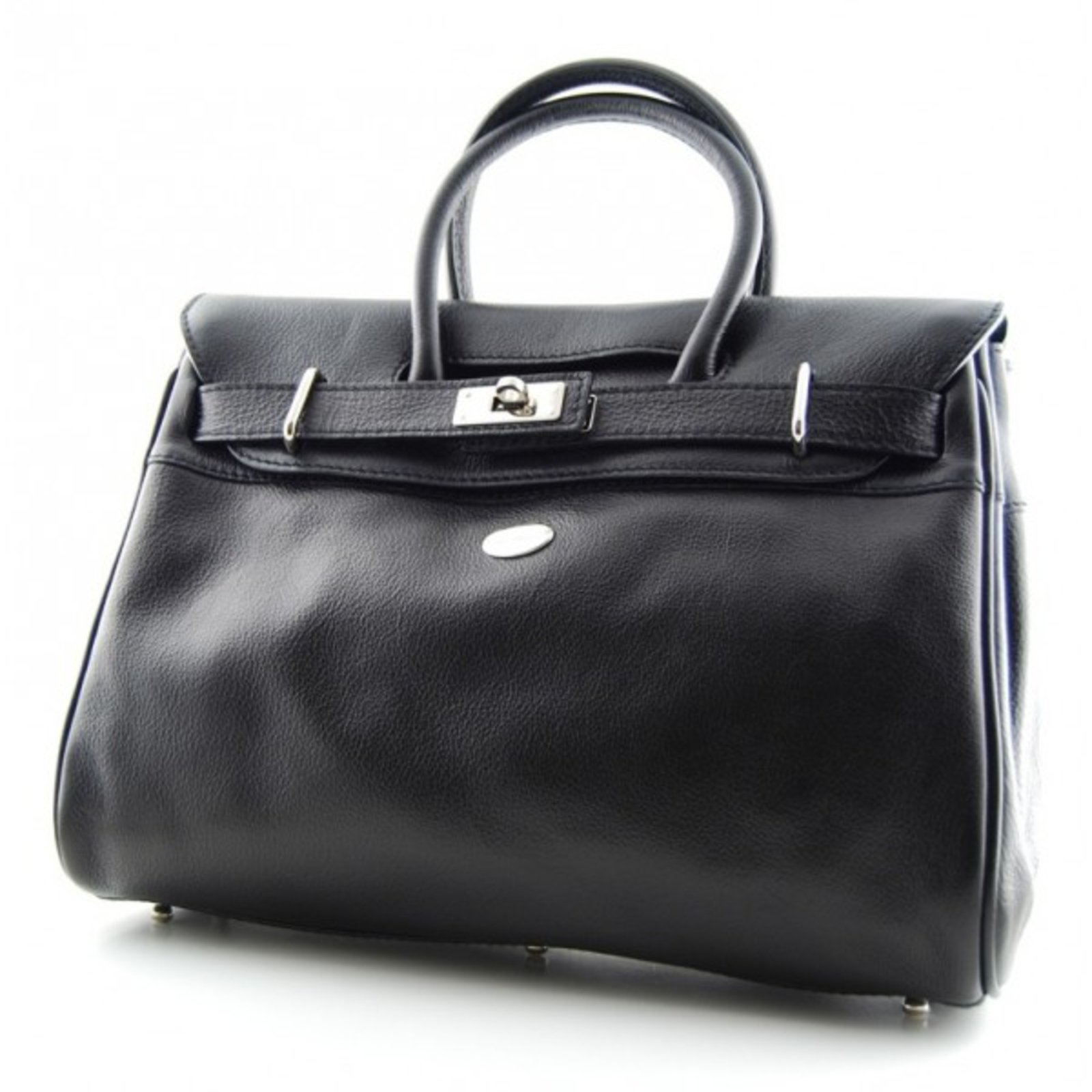 sacs main mac douglas pyla m cuir noir joli closet. Black Bedroom Furniture Sets. Home Design Ideas