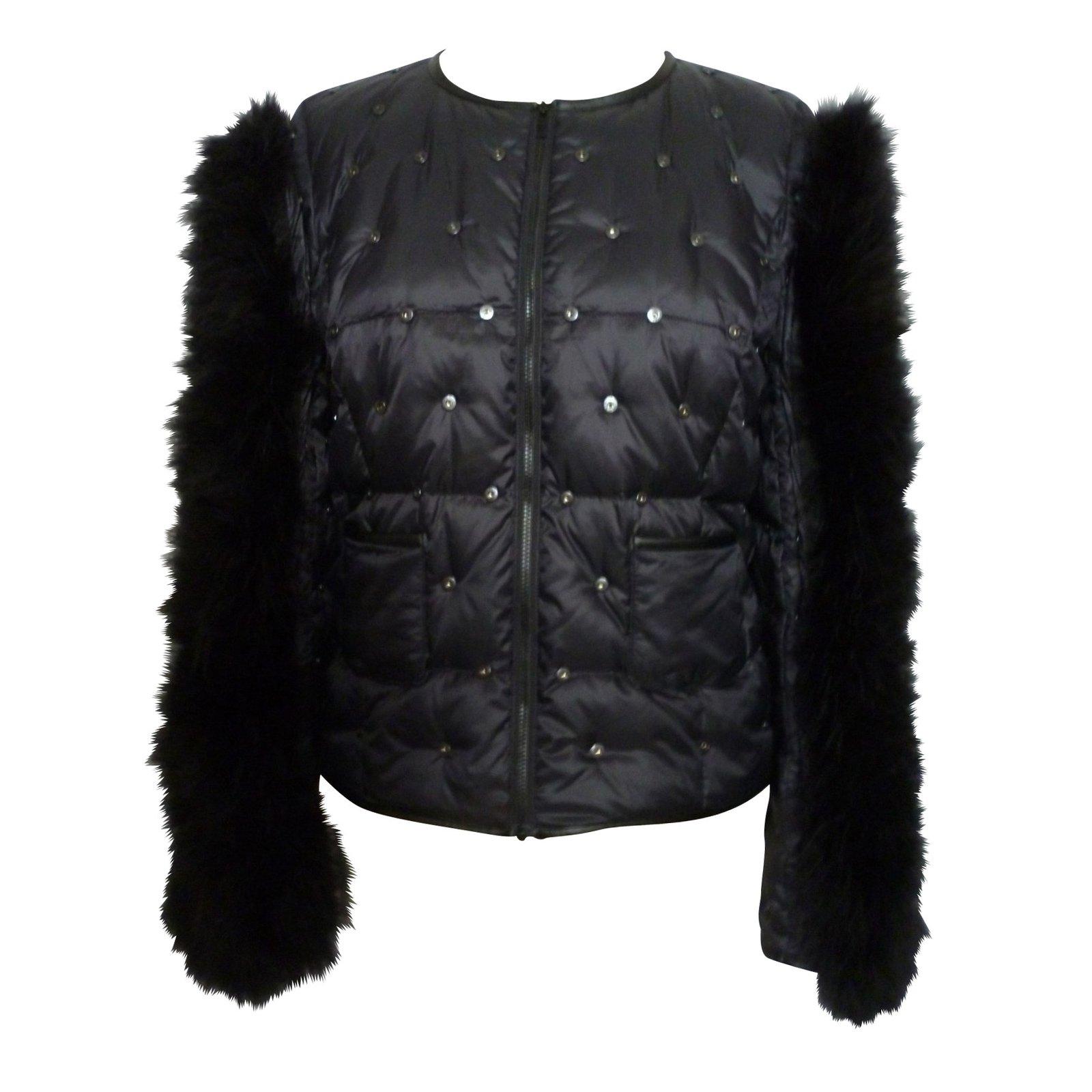 Vestes comptoir des cotonniers mademoiselle plume par serkan cura couture autre noir - Mademoiselle plume comptoir des cotonniers ...