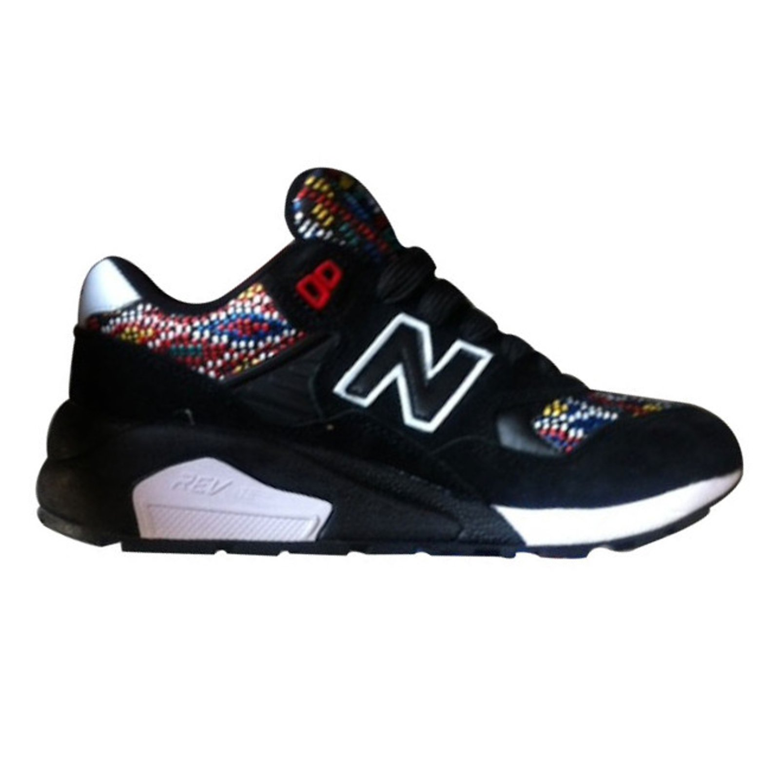 new balance noir multicolor