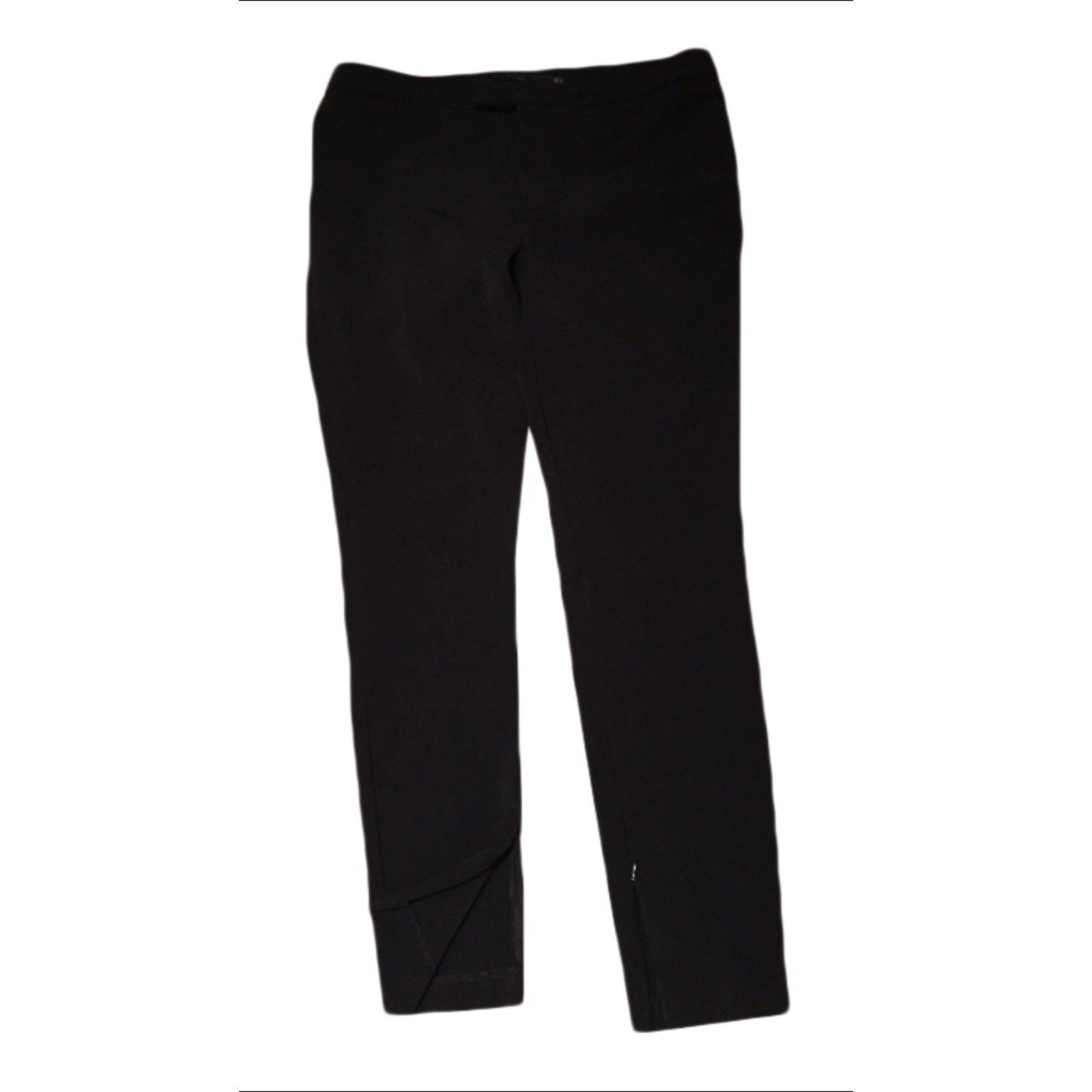 pantalon noir trou zara id e inspirante pour la conception de la maison. Black Bedroom Furniture Sets. Home Design Ideas