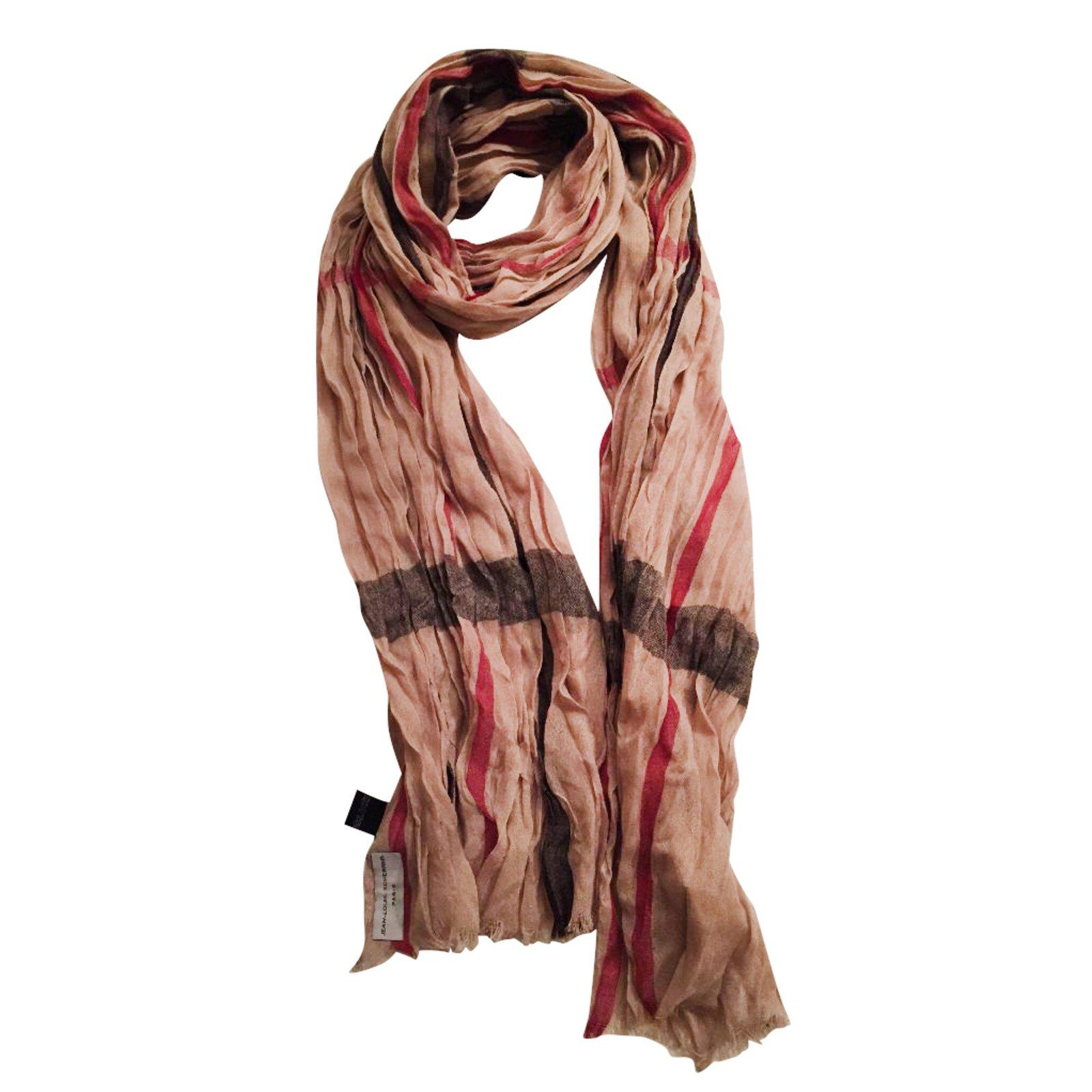foulards jean louis scherrer foulards polyester multicolore joli closet. Black Bedroom Furniture Sets. Home Design Ideas