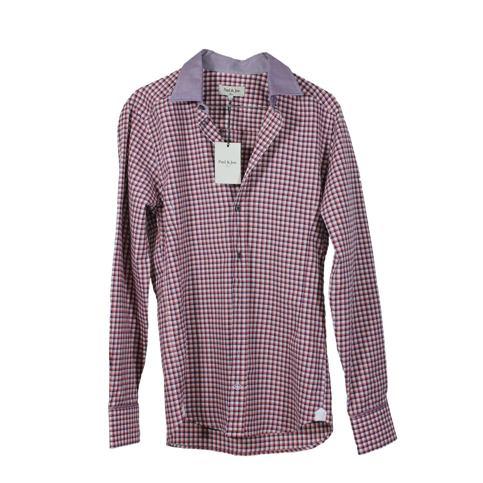 chemises paul joe chemise carreaux coton autre joli closet. Black Bedroom Furniture Sets. Home Design Ideas