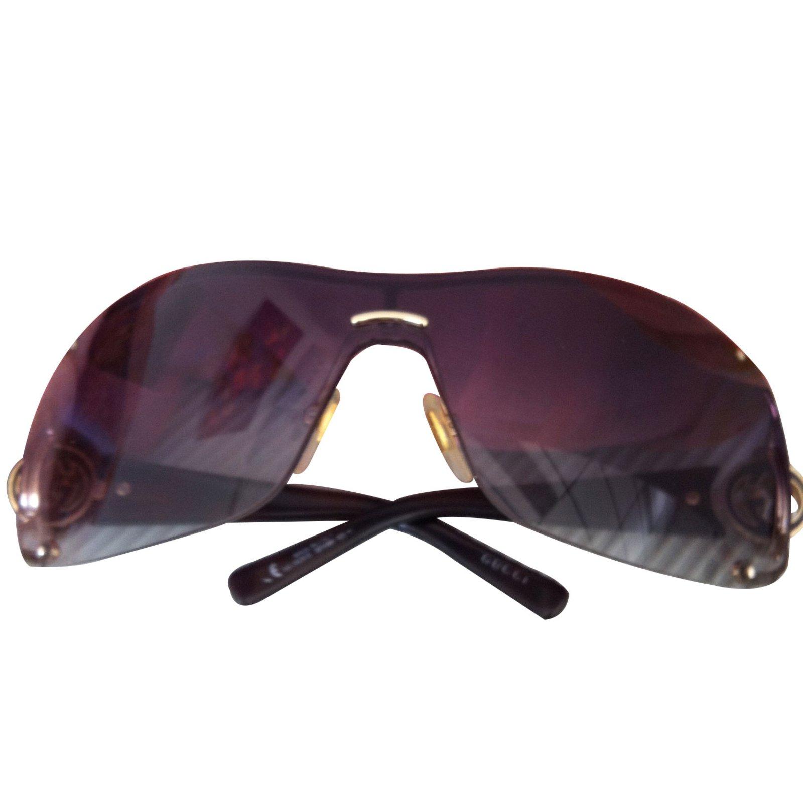 5a2c1ae1706 Gucci Sunglasses Sunglasses Plastic Brown ref.9154 - Joli Closet