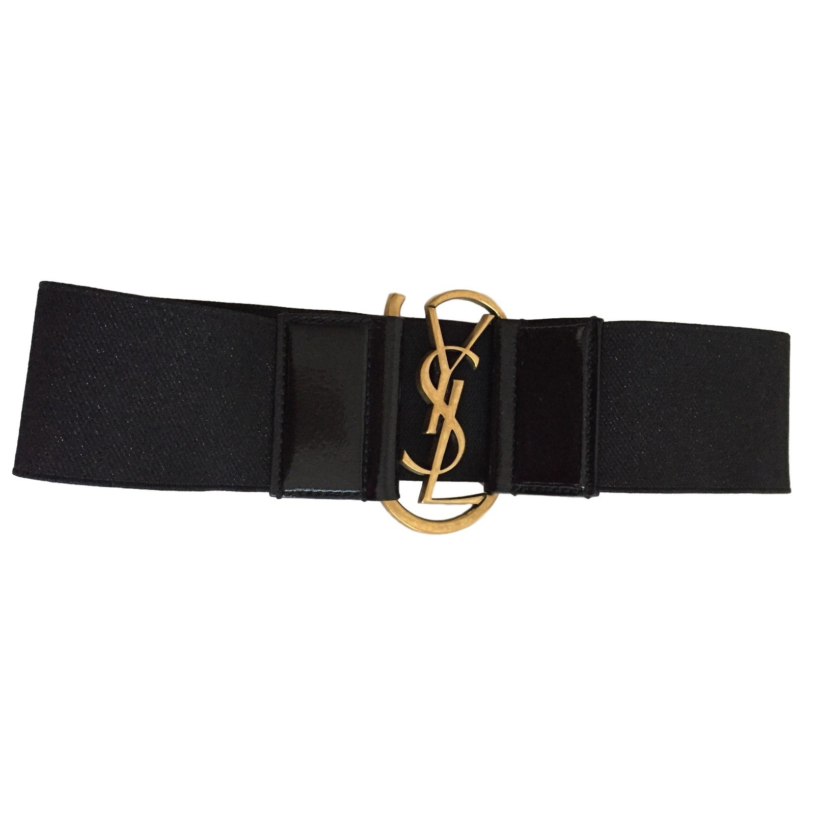 a9ae83953d9d Yves Saint Laurent Belts Belts Elastane Black ref.9303 - Joli Closet
