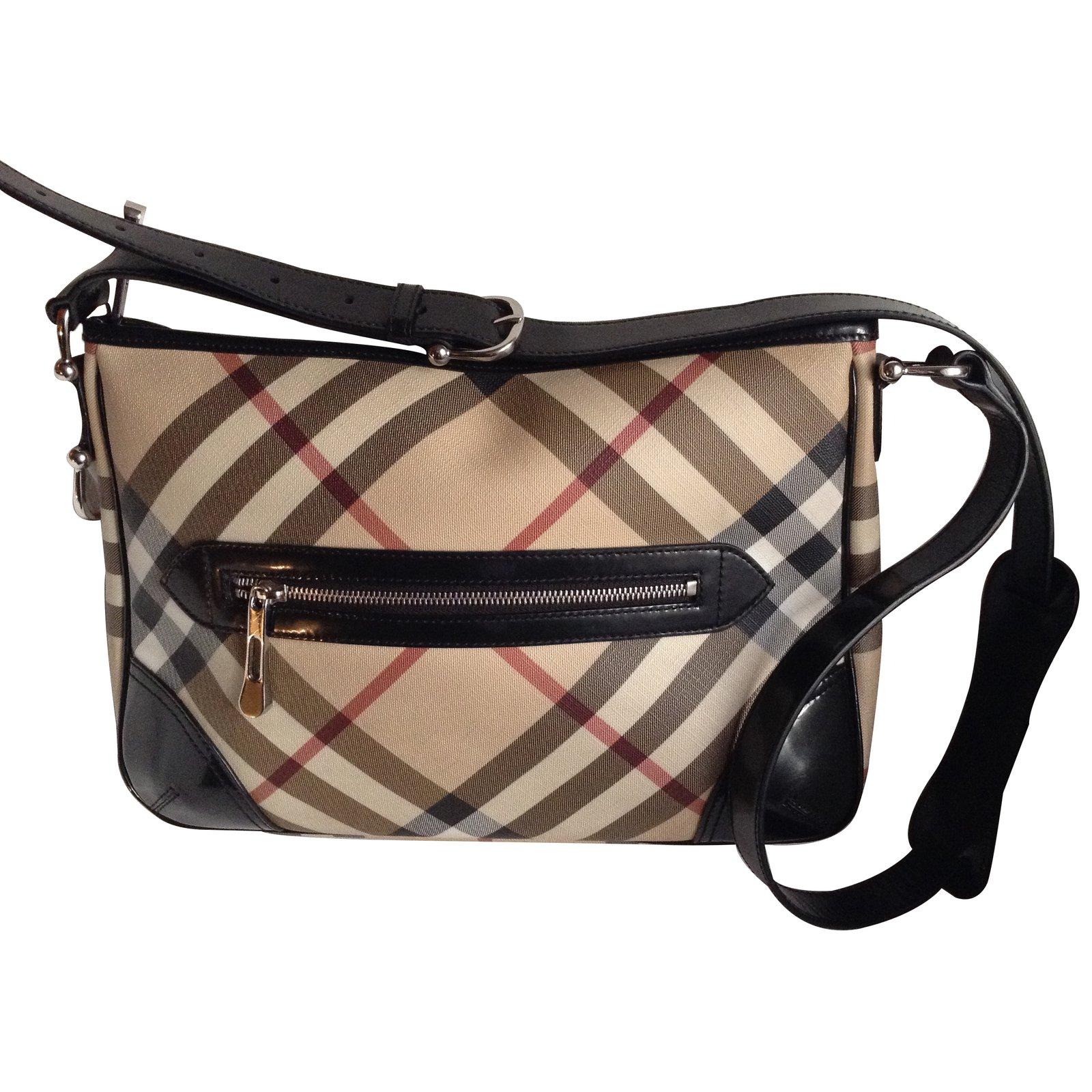 92cbbdf044b Burberry Handbags Handbags Cloth Beige ref.9385 - Joli Closet