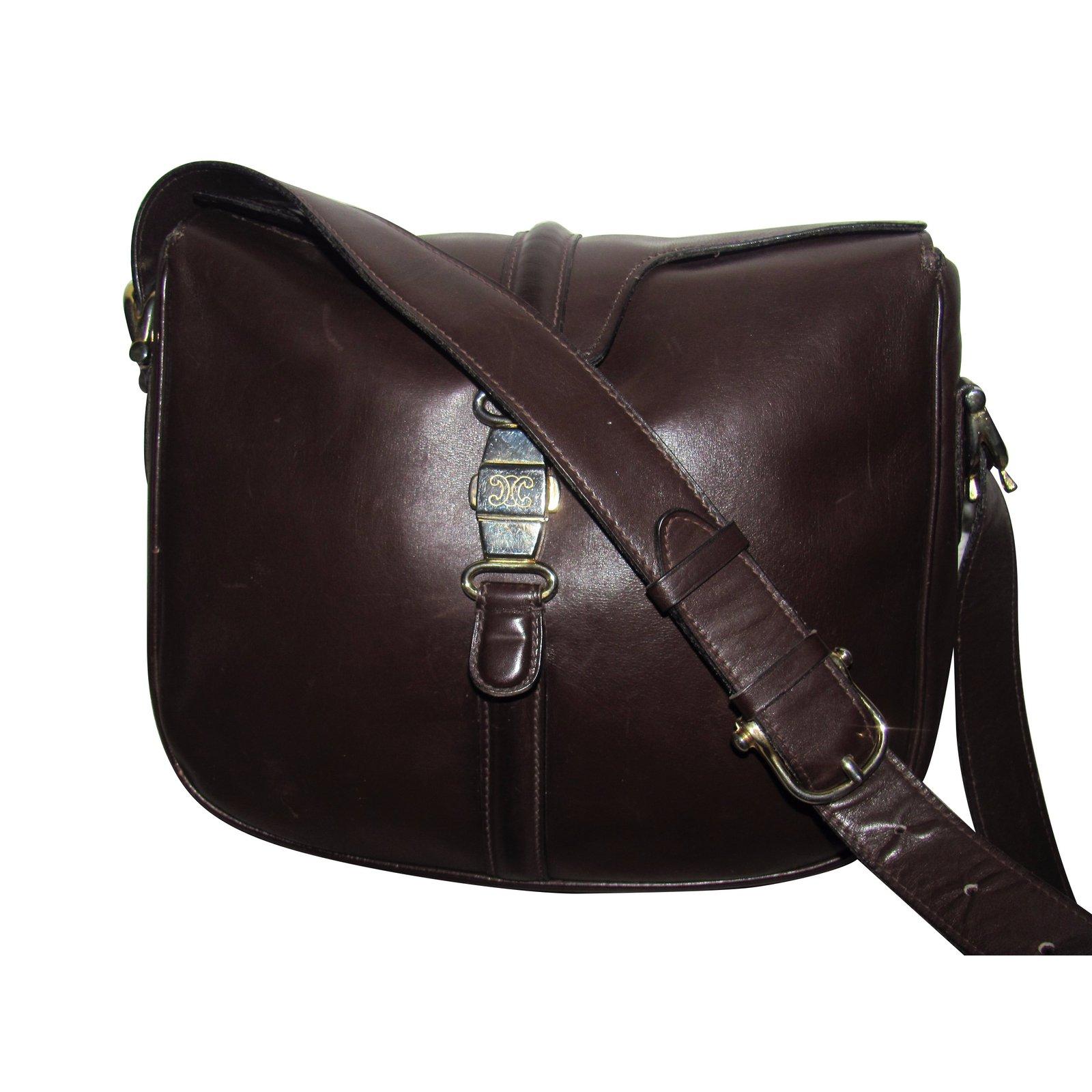 sacs main c line sacs main cuir marron joli. Black Bedroom Furniture Sets. Home Design Ideas