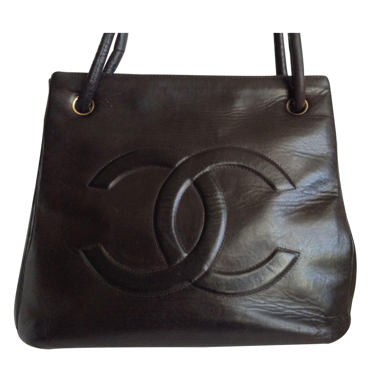 bd56ada605142 Sacs à main Chanel Sacs à main Cuir Marron ref.9540 - Joli Closet