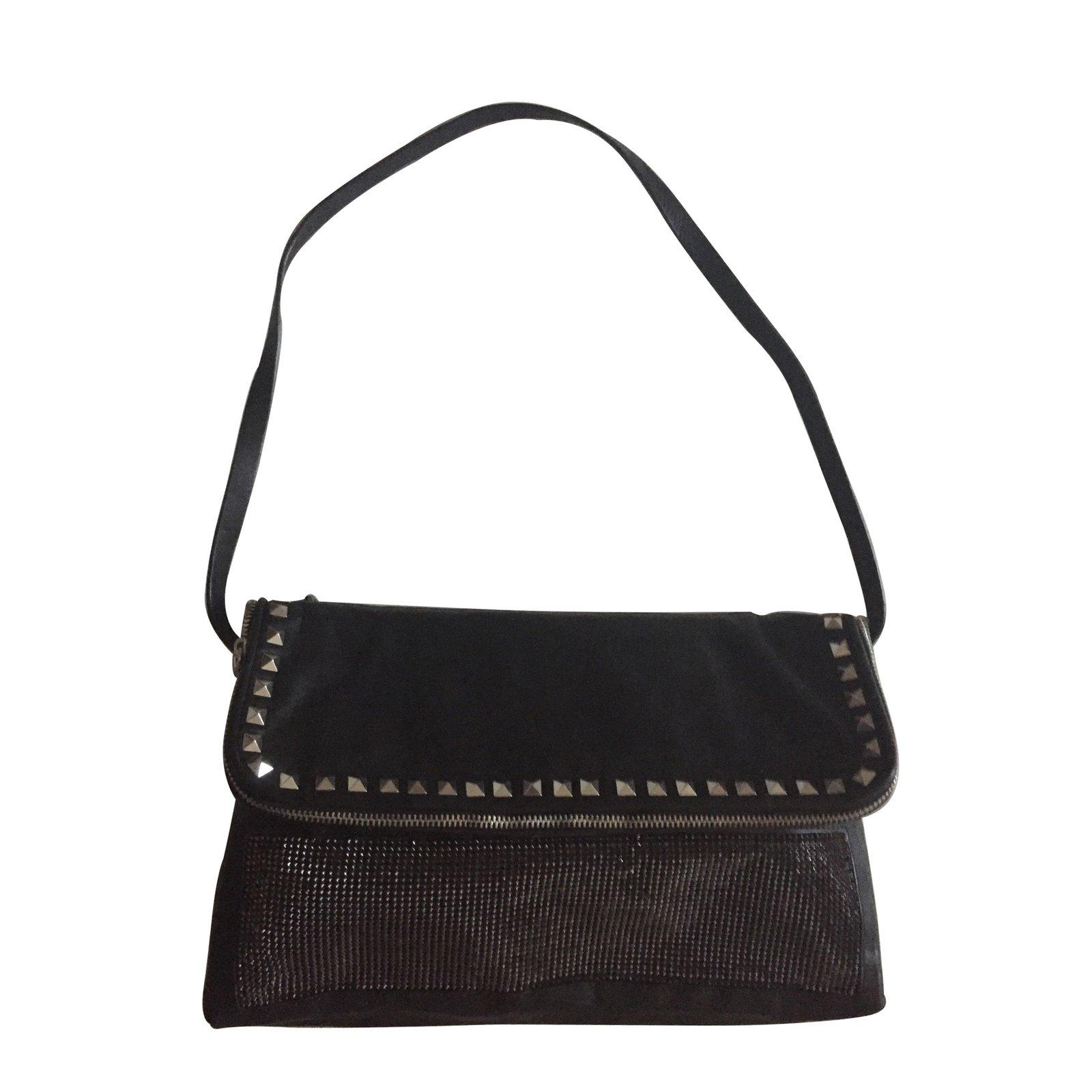 sacs main zara sacs main cuir noir joli closet. Black Bedroom Furniture Sets. Home Design Ideas