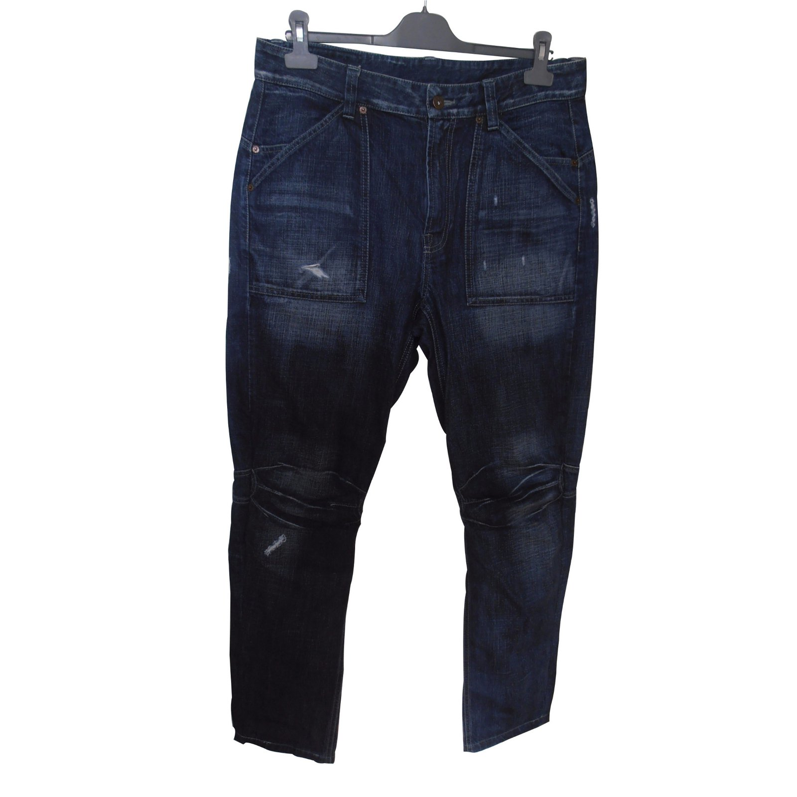 jeans homme kenzo large coton bleu joli closet. Black Bedroom Furniture Sets. Home Design Ideas