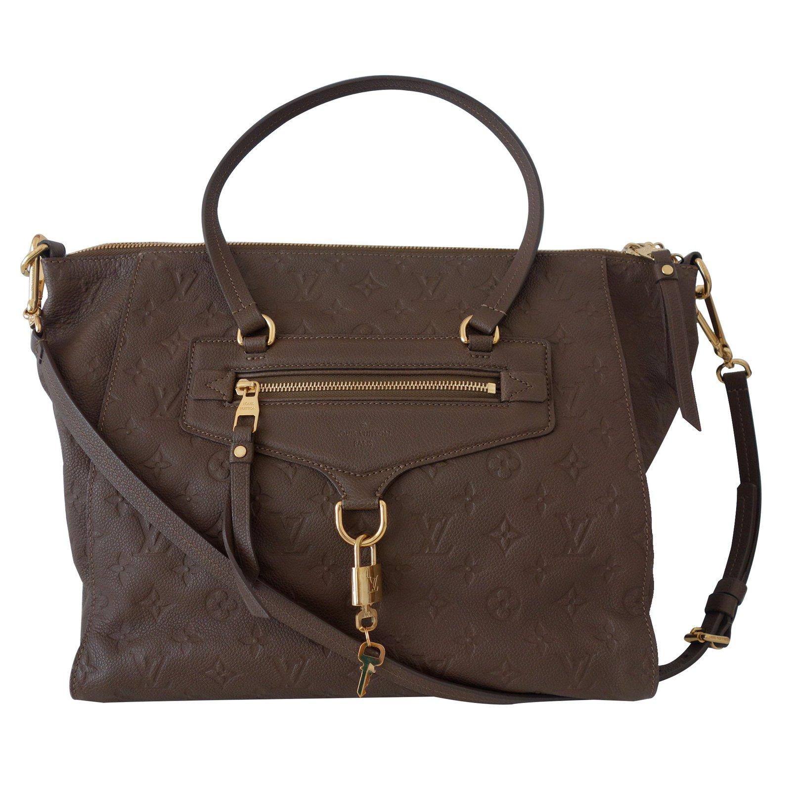 Sacs à main Louis Vuitton SAC VUITTON EMPREINTE LUMINEUSE Cuir Marron  ref.10764 de731d0e4d4