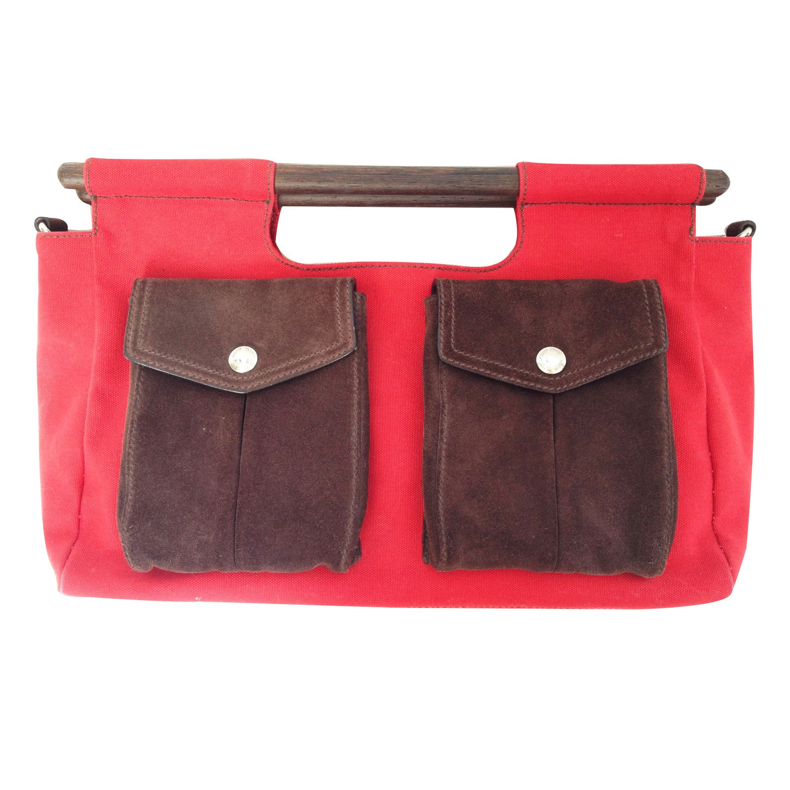 sacs main miu miu sacs main daim rouge joli closet. Black Bedroom Furniture Sets. Home Design Ideas