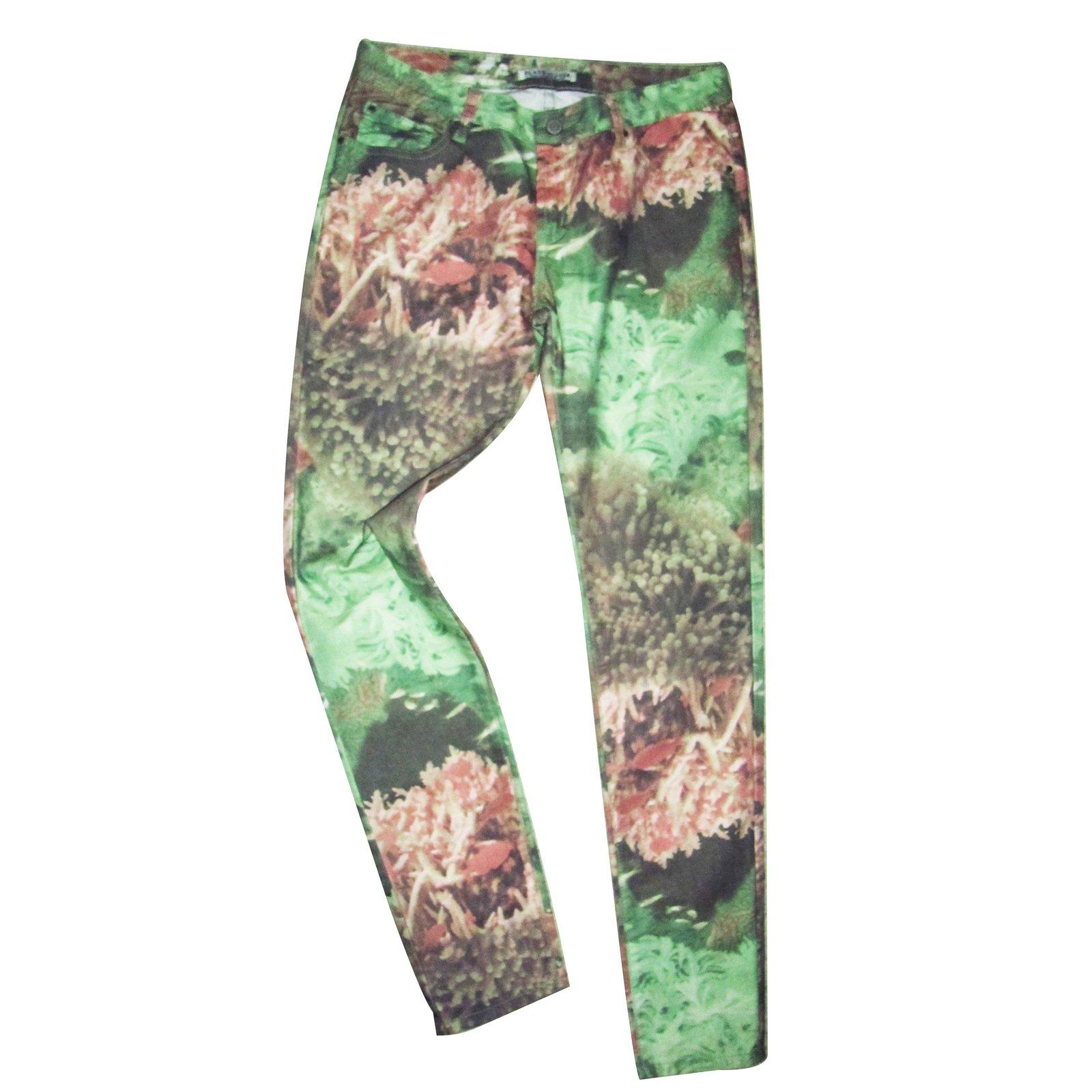 pantalons autre marque pantalon place du jour autre multicolore joli closet