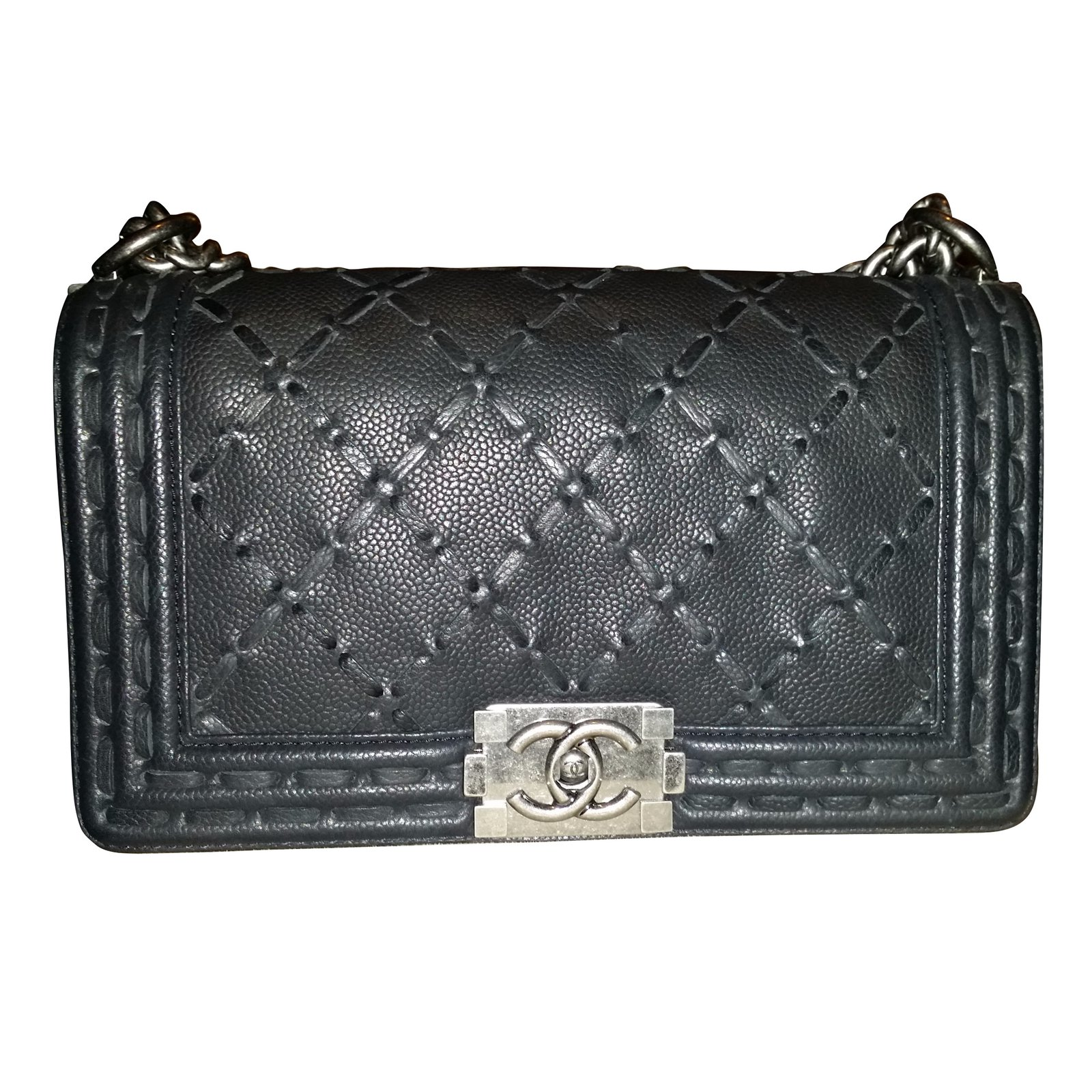 Chanel Handbags Leather Black Ref 10947 Joli Closet