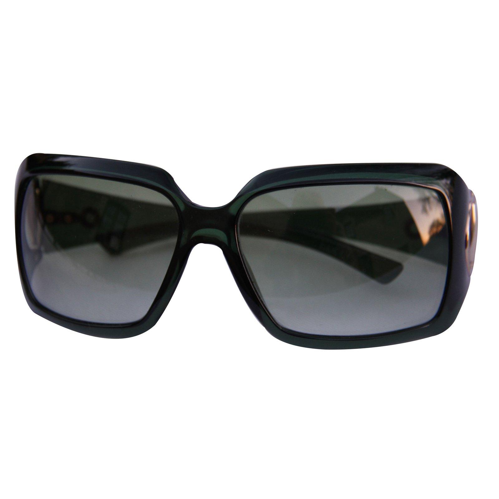 37c5190979 Gucci Sunglasses Sunglasses Plastic Black ref.11467 - Joli Closet