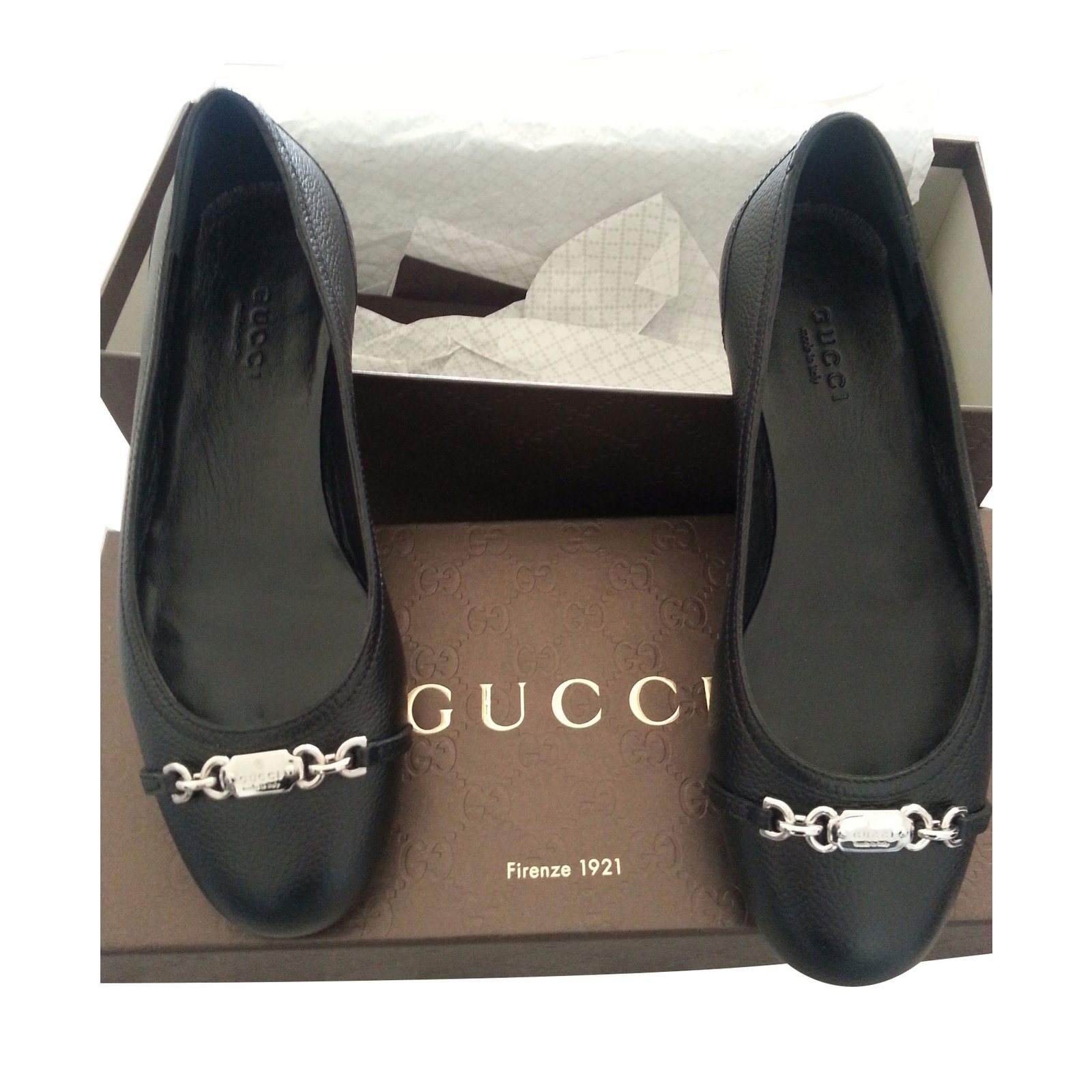 Gucci Ballet flats Ballet flats Leather