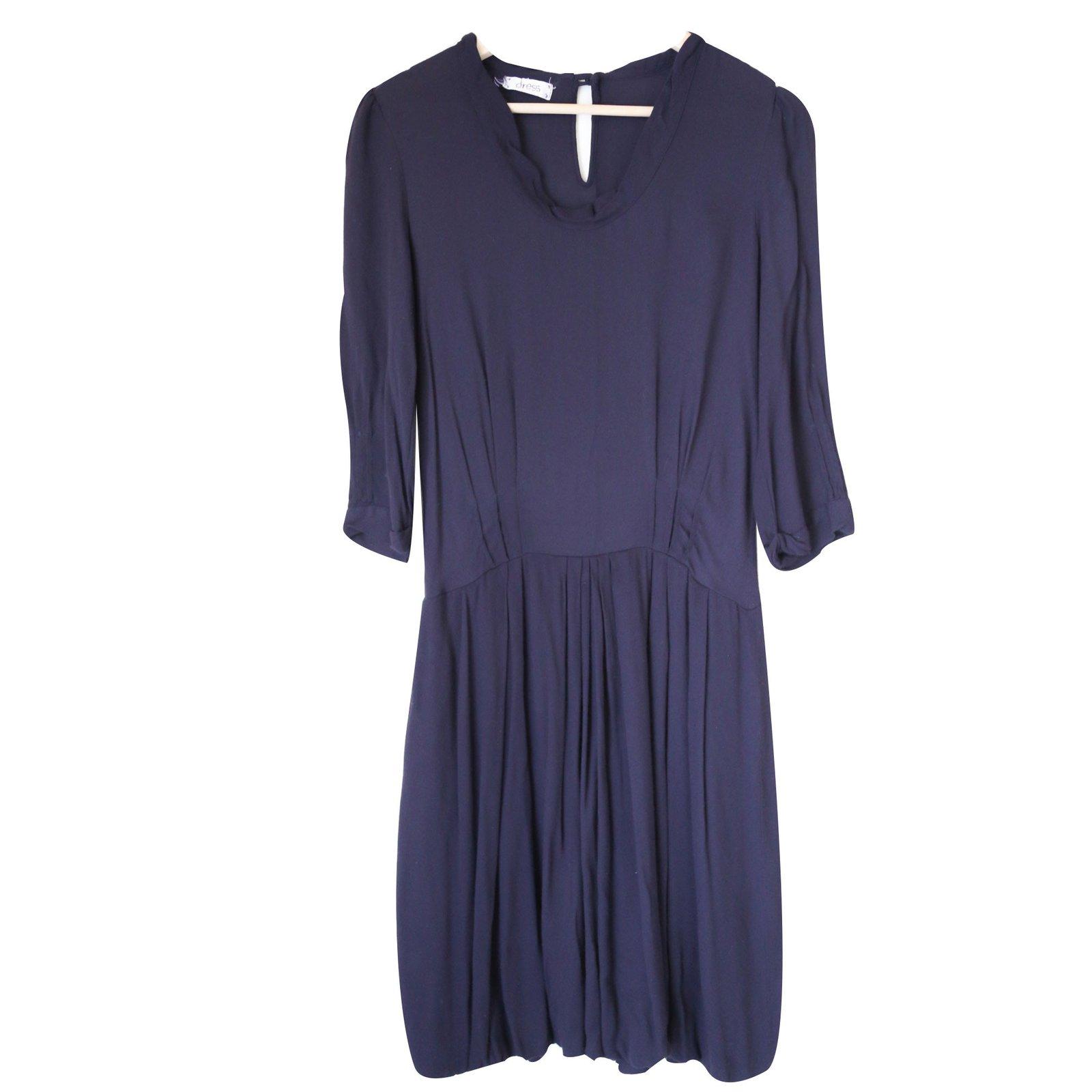 robes forte forte robe dress viscose violet joli closet. Black Bedroom Furniture Sets. Home Design Ideas