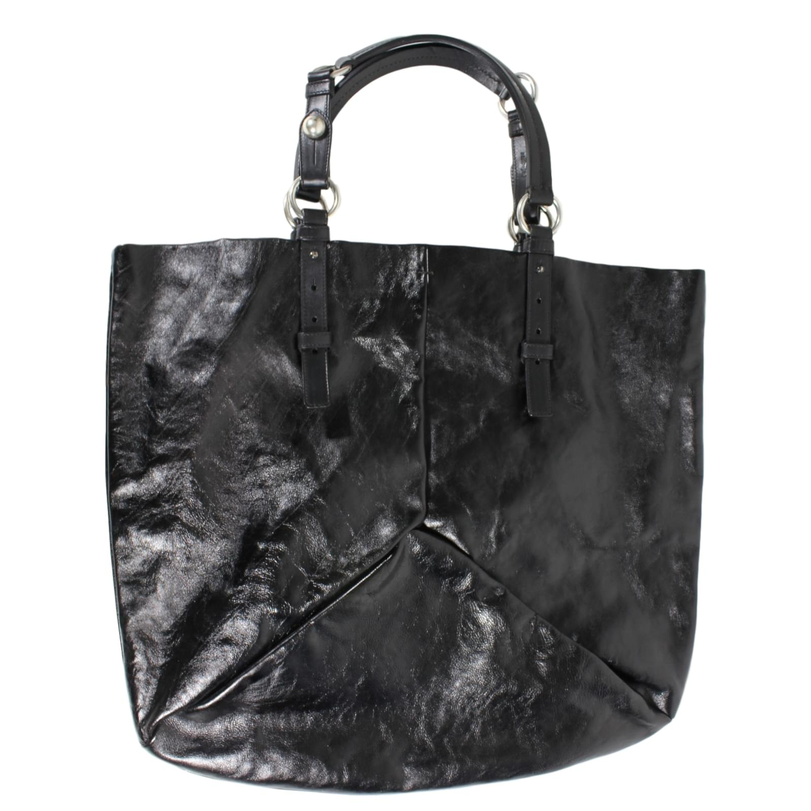 685d55b021f1 ... Yves Saint Laurent Totes Totes Leather Brown ref.12741 super specials  b8186 fd72e ...