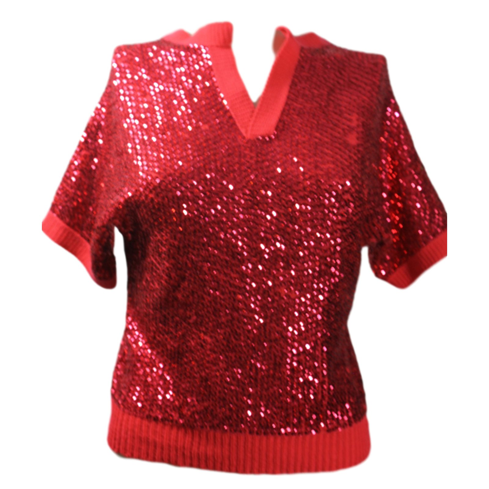 Louis Vuitton Tops Tops Other Red ref.13247