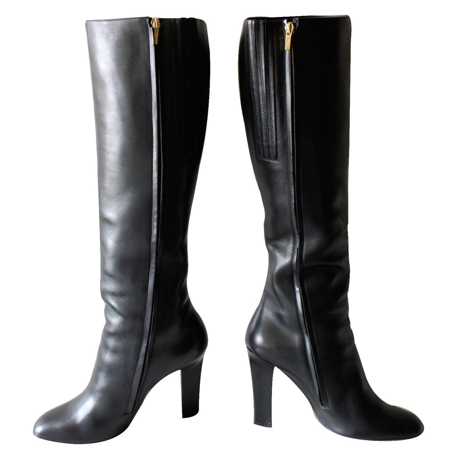 Salvatore Ferragamo Boots Boots Leather
