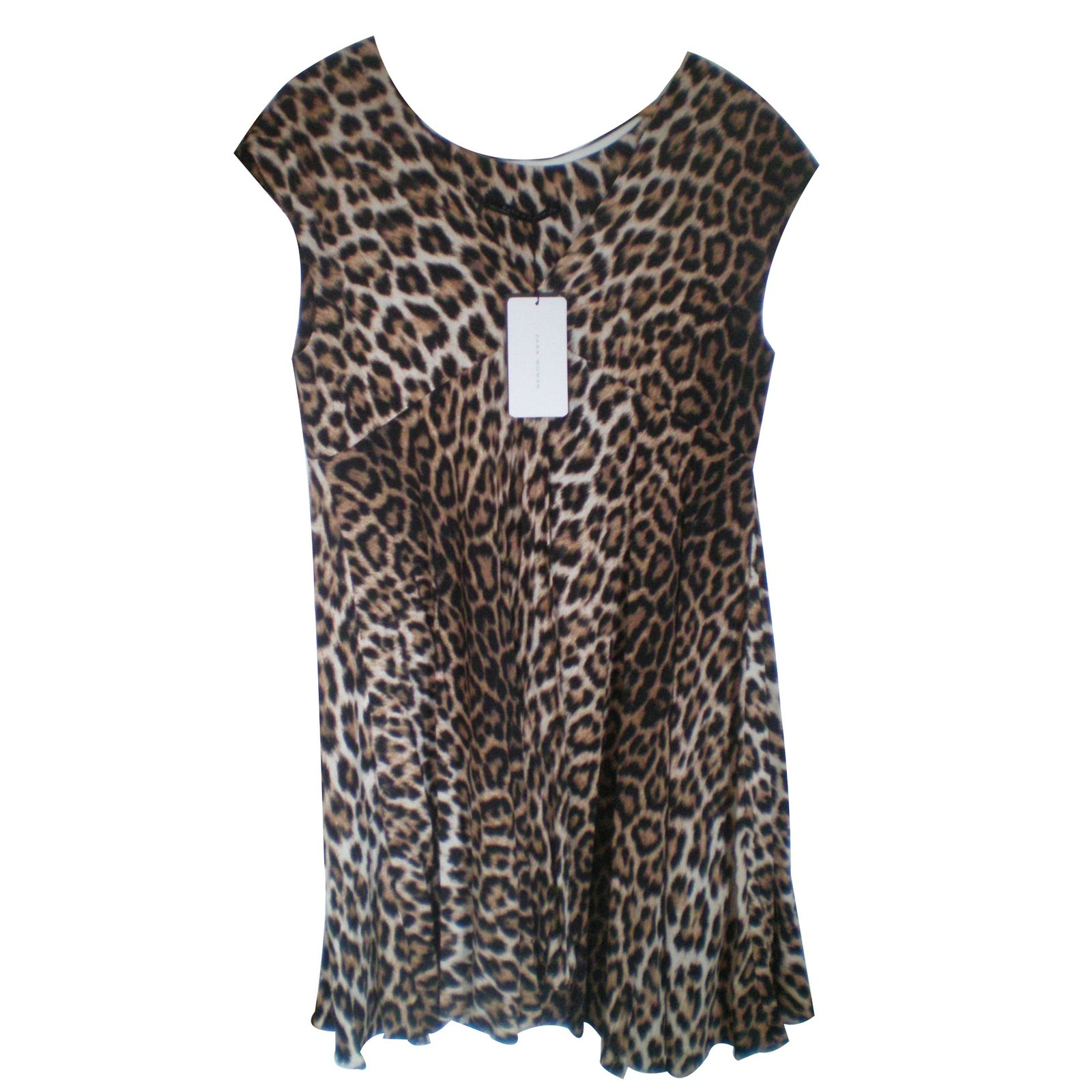 85a5e40970b Robe zara imprime leopard – Modèles populaires de robes