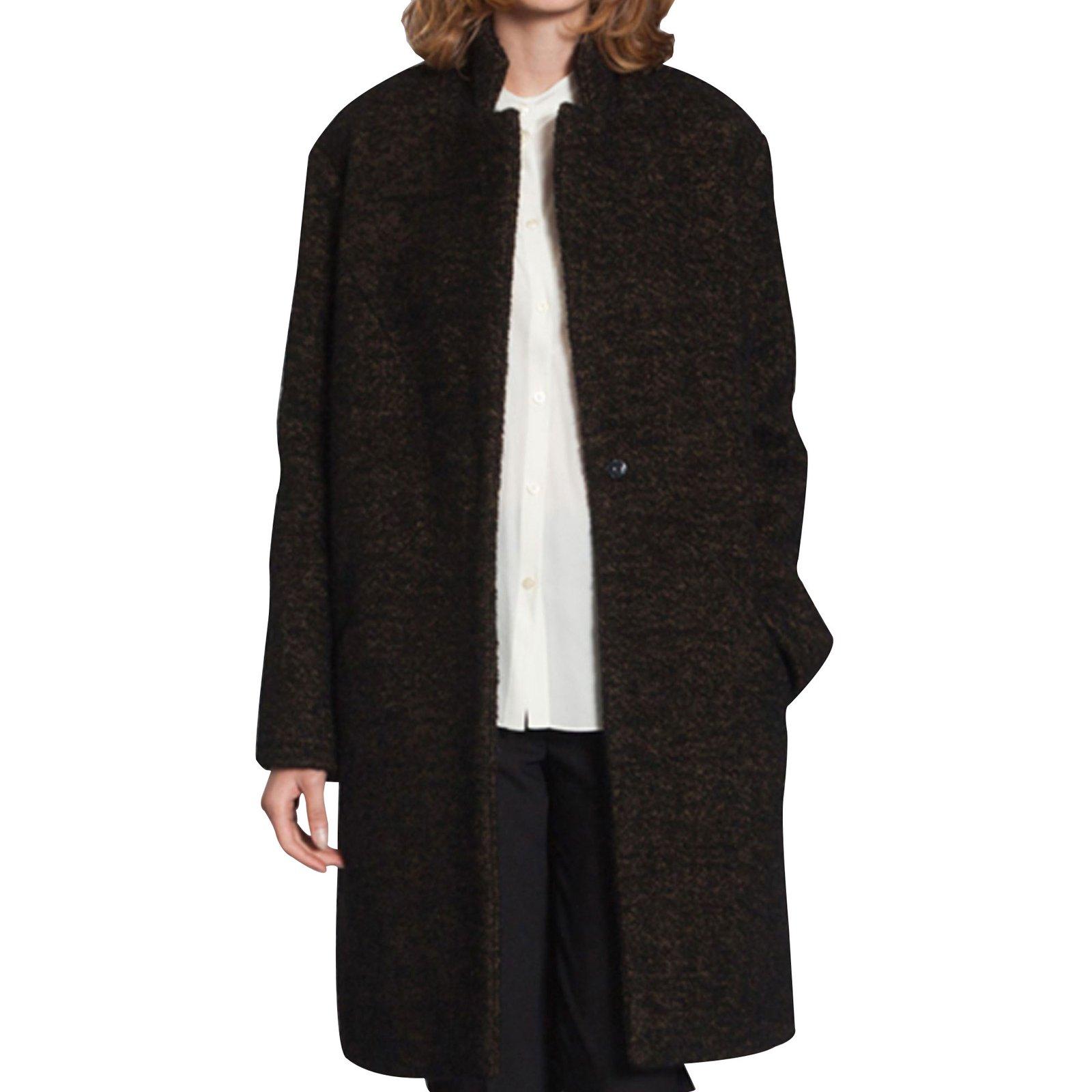 3cbe0fffe3 Cacharel Coats, Outerwear Coats, Outerwear Wool Black ref.13705 ...