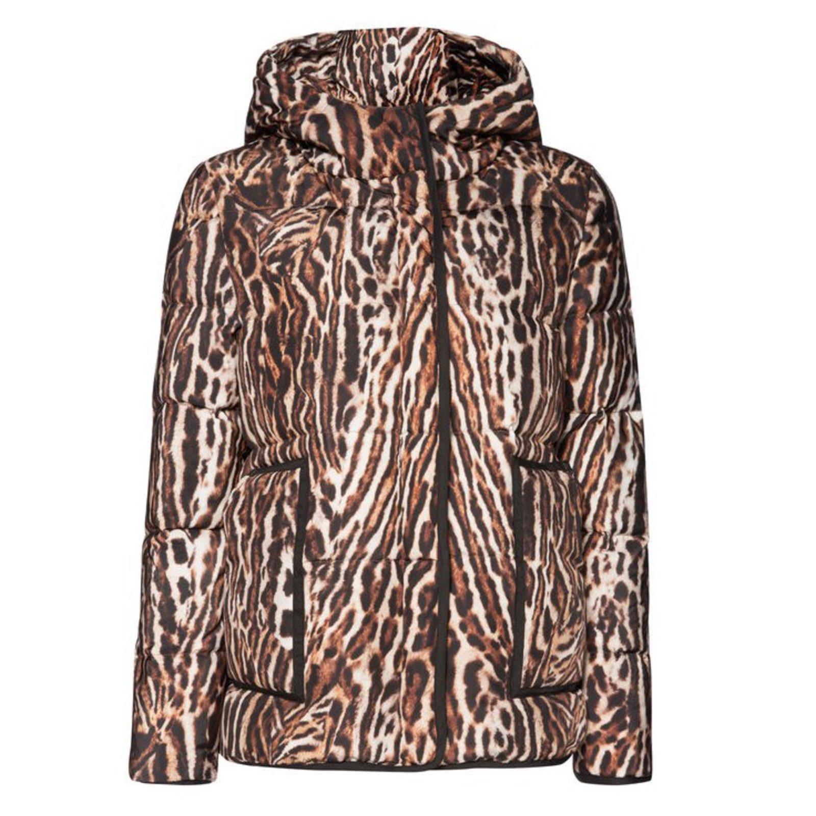 Imprimé 14404 Manteaux ref Doudoune léopard Maje Polyester tCBQdshxr